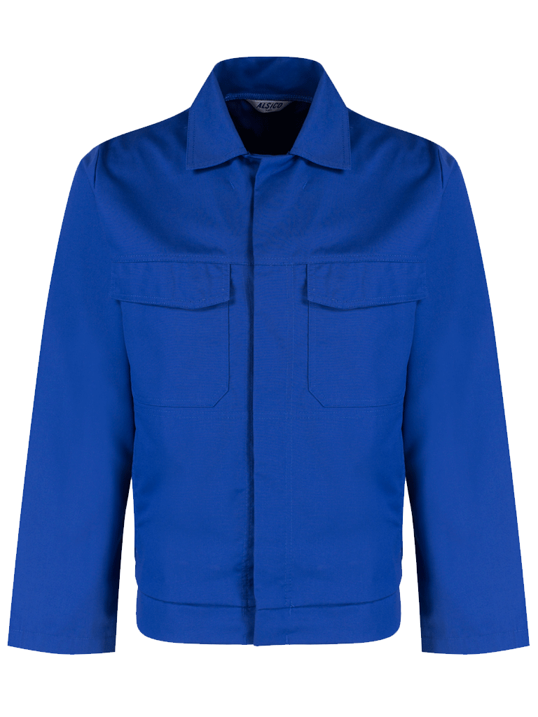 Picture of Alsi Zip Jacket - Royal Blue