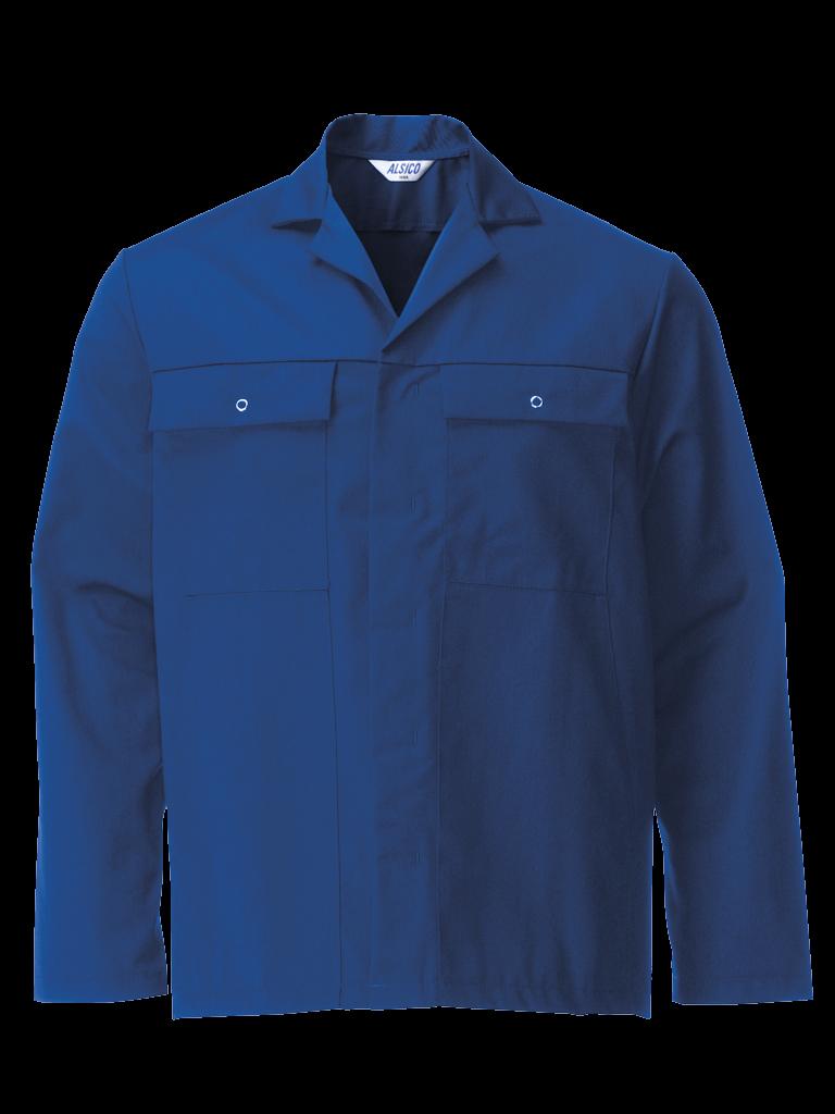 Picture of Stud Jacket (Cotton Rich 315gsm) - Royal Blue