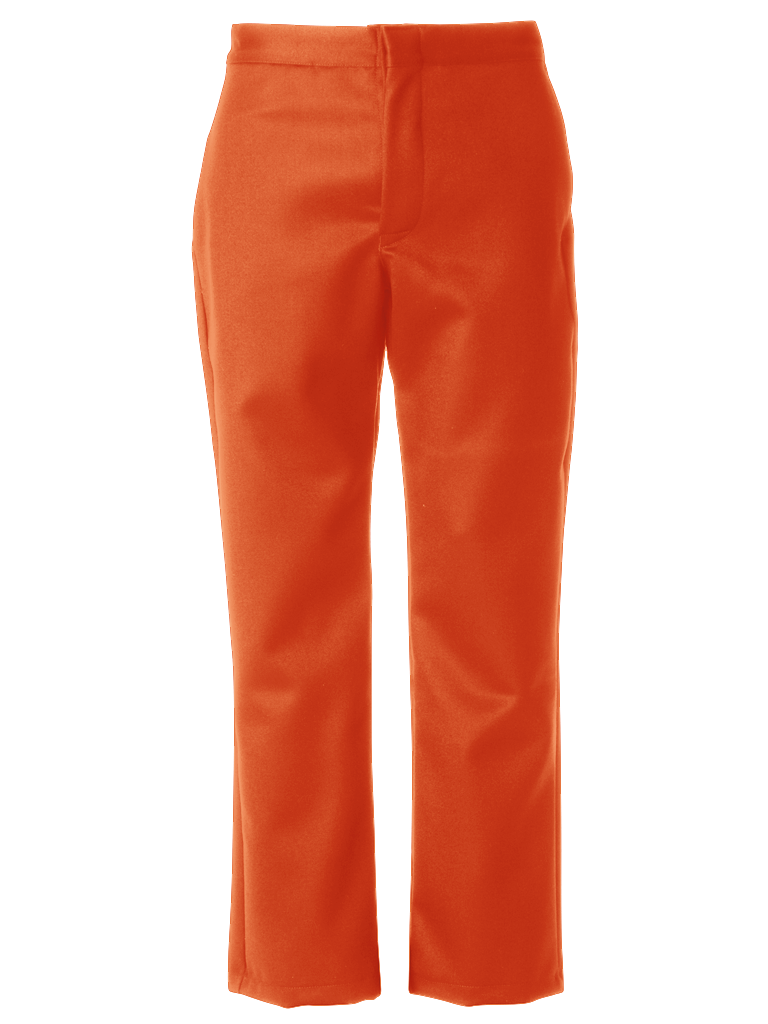 Picture of 100% Wool Trouser - Orange
