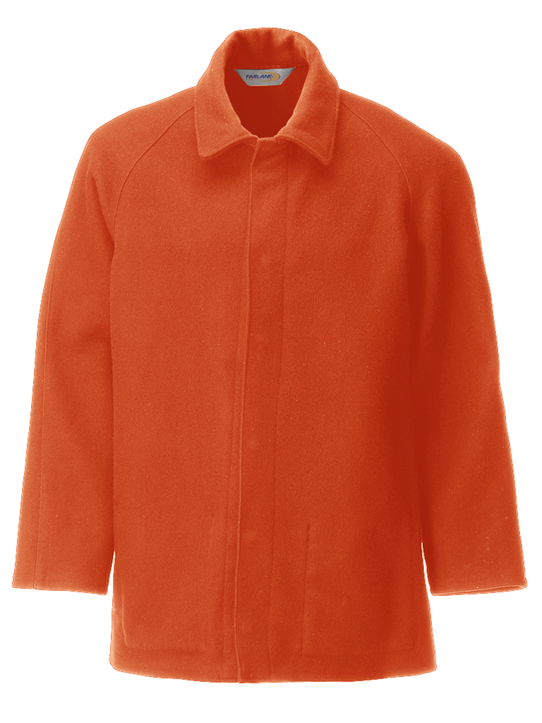Picture of 100% Wool Jacket - Orange