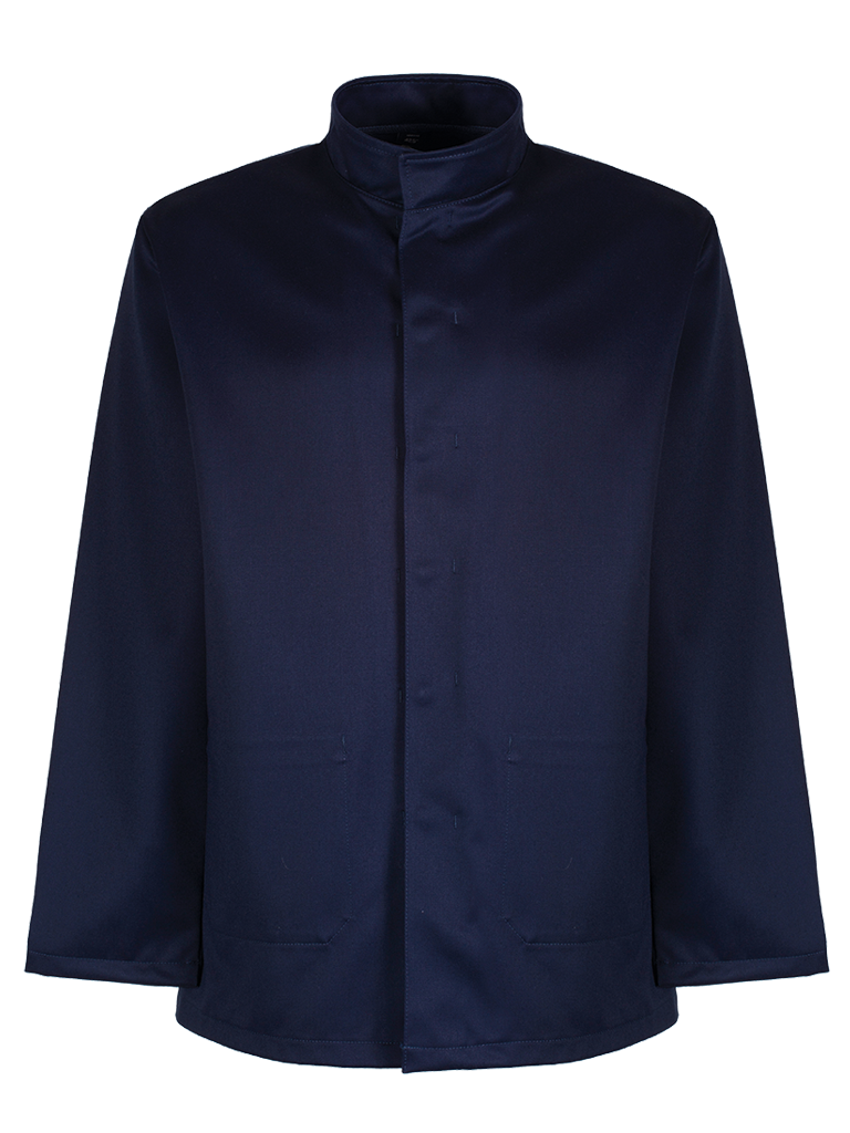 Picture of Marlan Jacket with Stand Collar - Navy