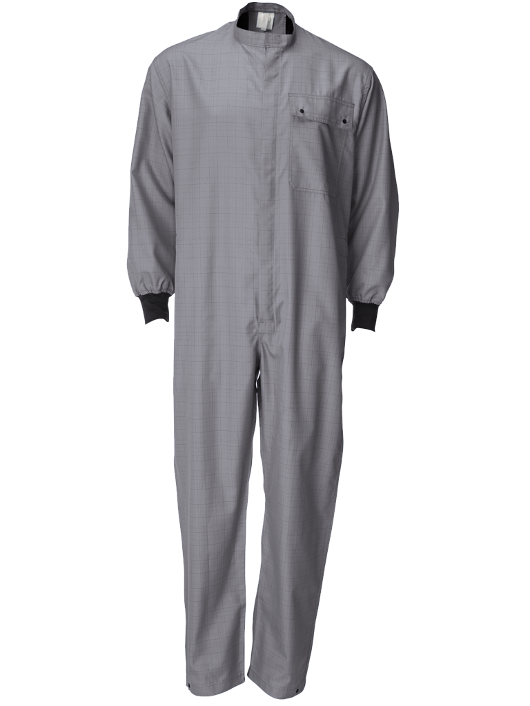 Picture of Single Layer Coverall - Grey