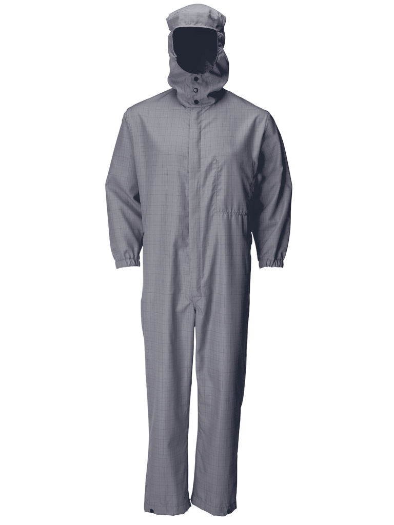 Picture of Double Layer Coverall - Grey