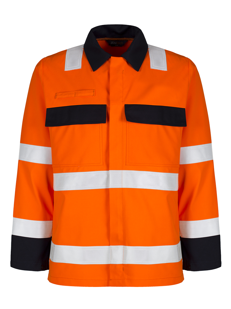 Picture of Protal® Hi-Vis Jacket - Navy / Hi Vis Orange