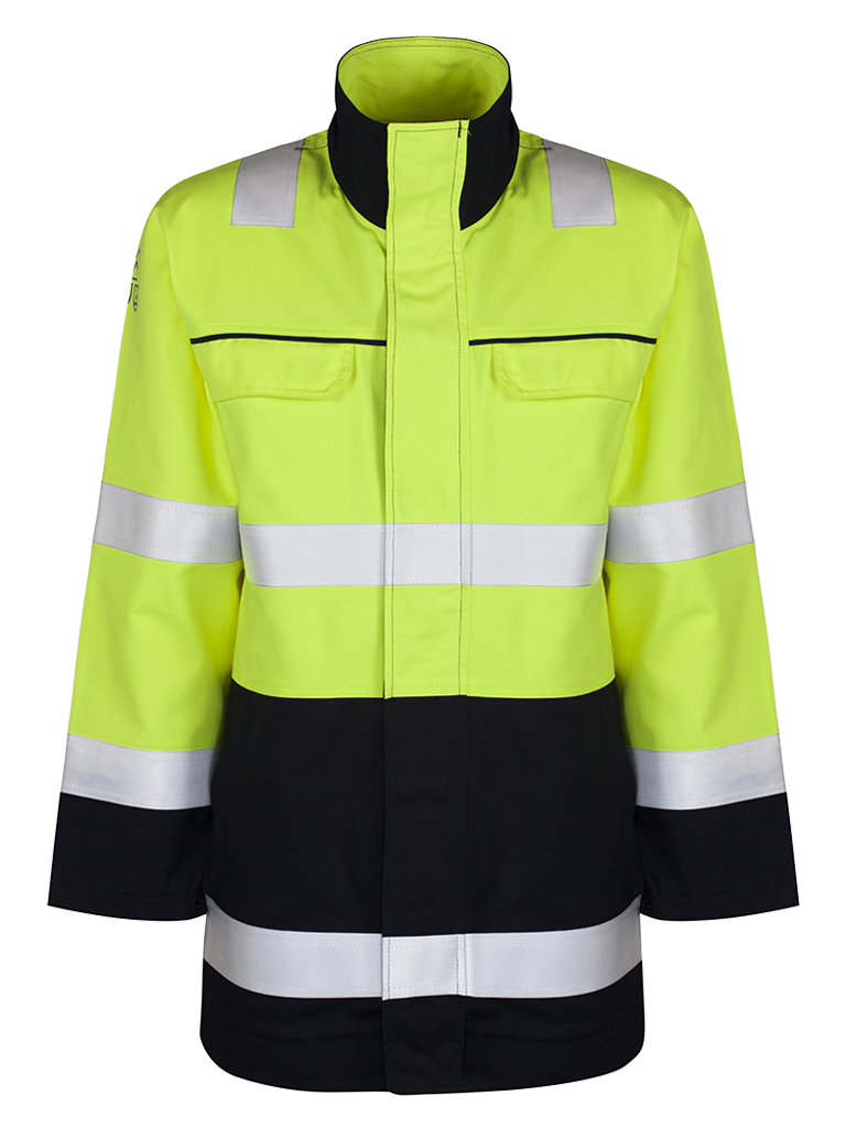 Picture of Protal® Winter Jacket - Navy / Hi Vis Yellow
