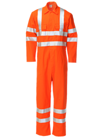 Picture of Coverall made with Zeus FR