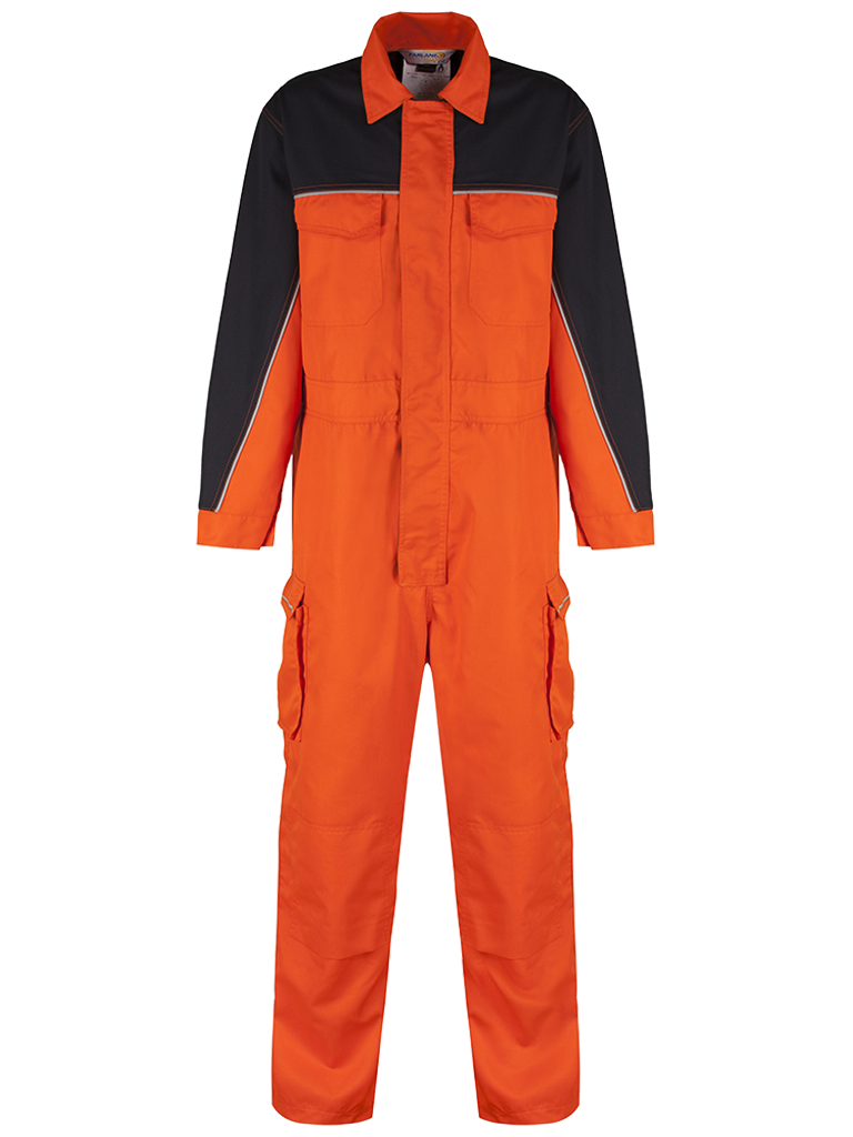 Picture of Coverall made from Nomex® Comfort Ripstop - Orange / Navy