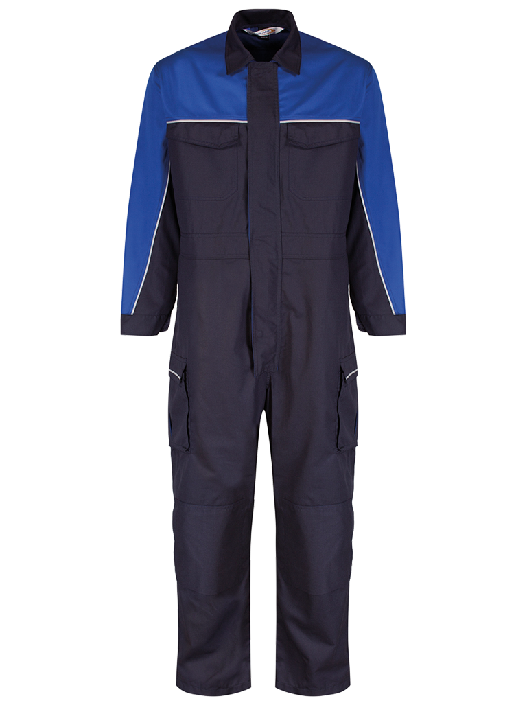 Picture of Coverall made from Nomex® Comfort Ripstop - Navy / Royal Blue