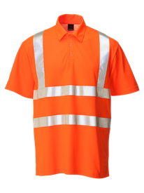 Picture of Hi-Vis Polo Short Sleeve - Orange