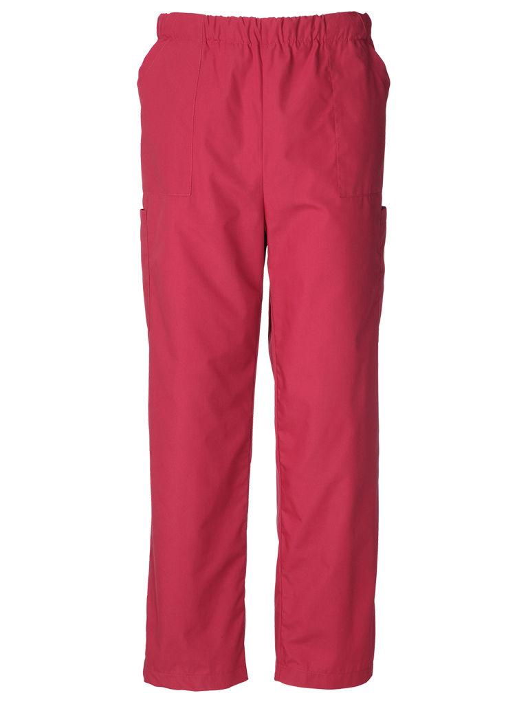 Picture of Unisex Scrub Trouser (145gsm) - Raspberry