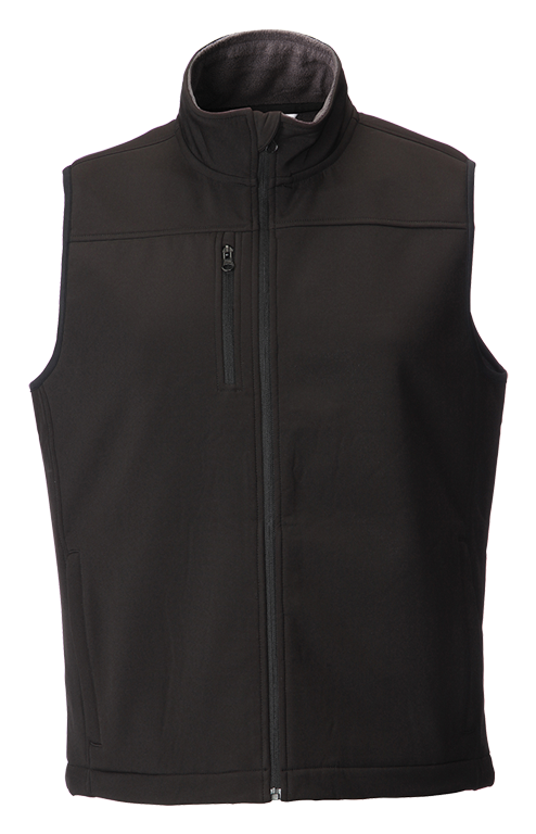 Picture of Softshell Gilet - Black
