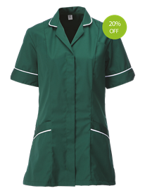 Picture of Female Tunic (210gsm) Bottle Green