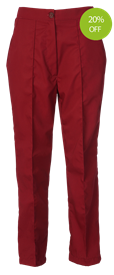 Picture of Ladies Straight Leg Trouser (210gsm) Smokeberry