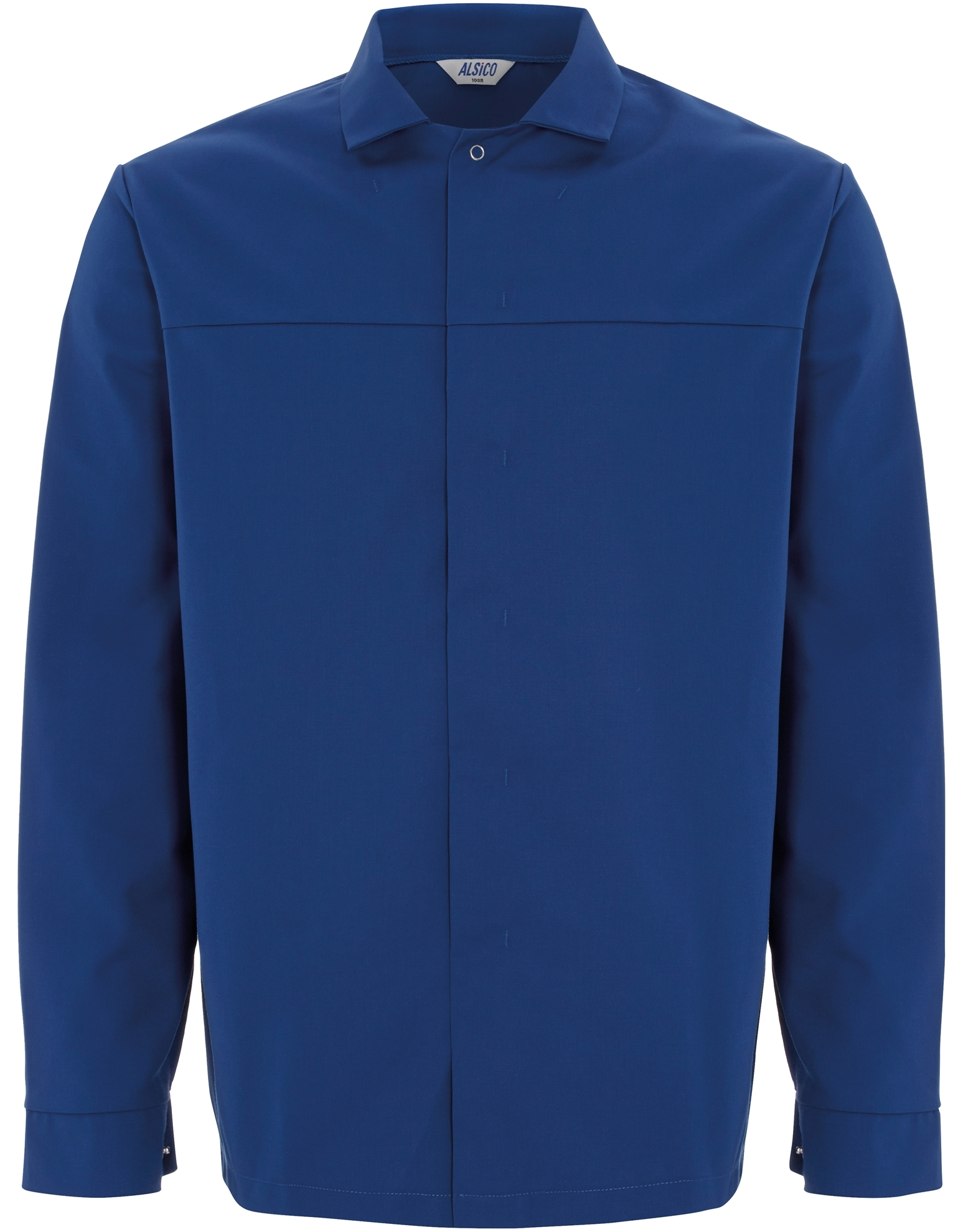 Picture of Long Length Food Trade Jacket No Pocket (245gsm) - Royal Blue