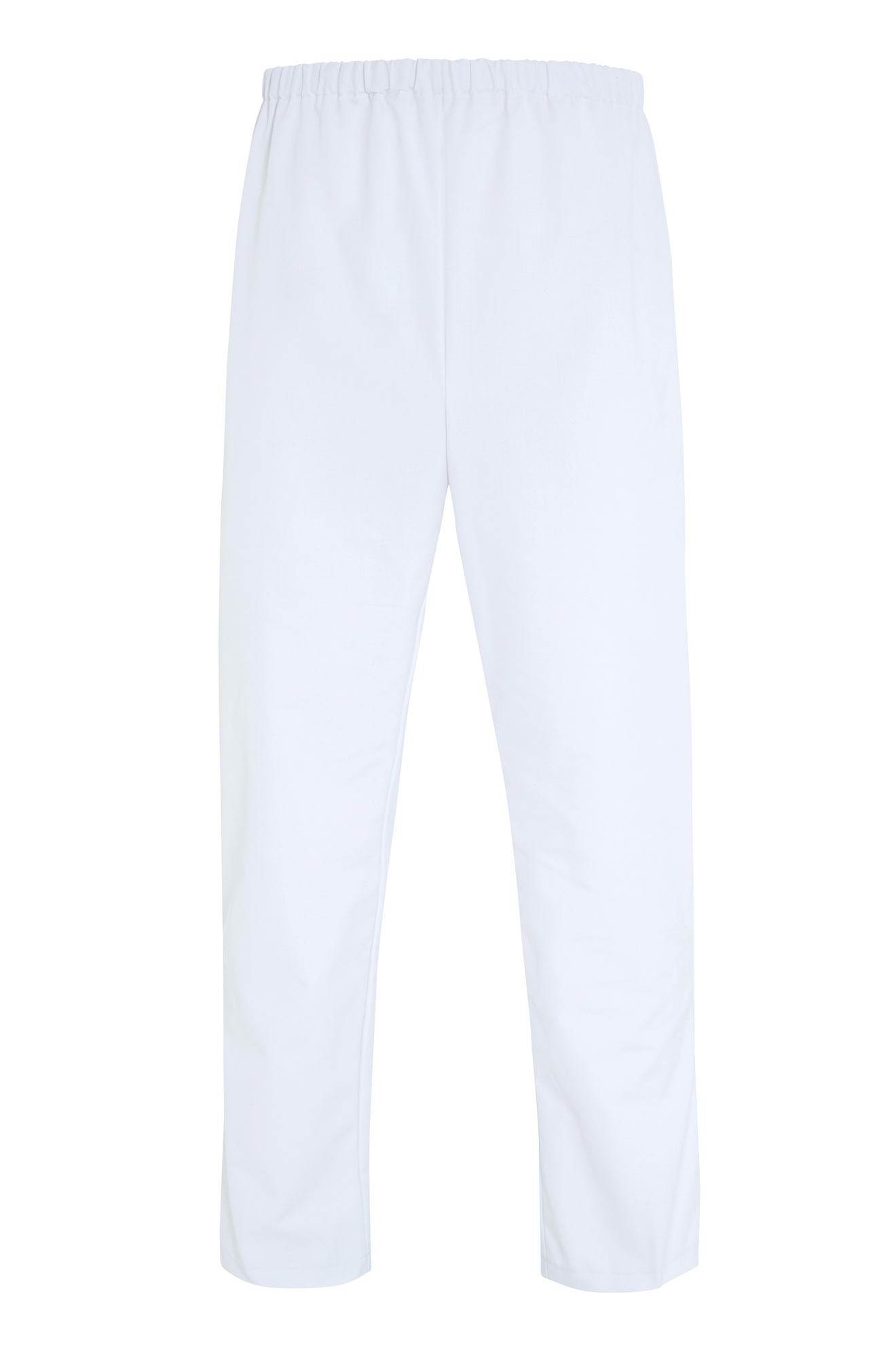 Picture of Food Trade Trouser with Anti Tangle Tape No Pocket (245gsm) - Super White