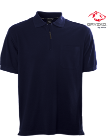 Picture of Performance Zip Polo