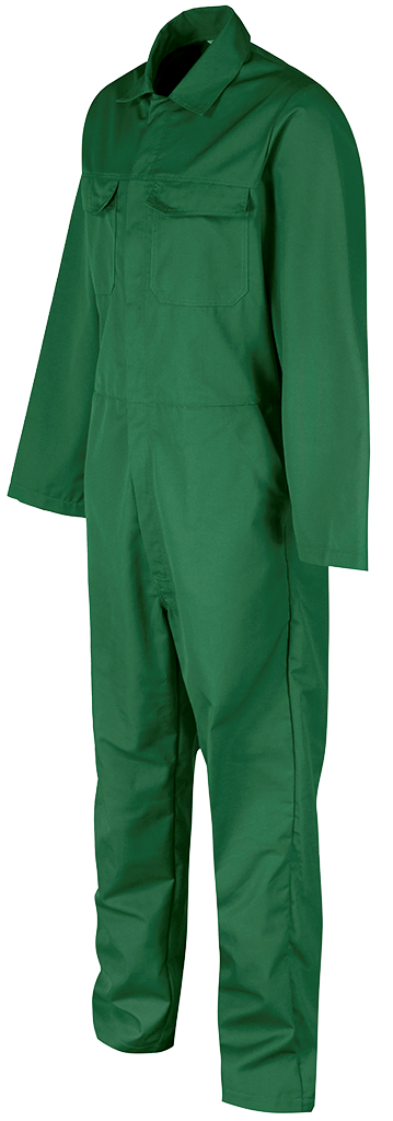 Right side Bottle Green Overall