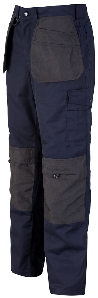 Navy Trade Trouser Side View