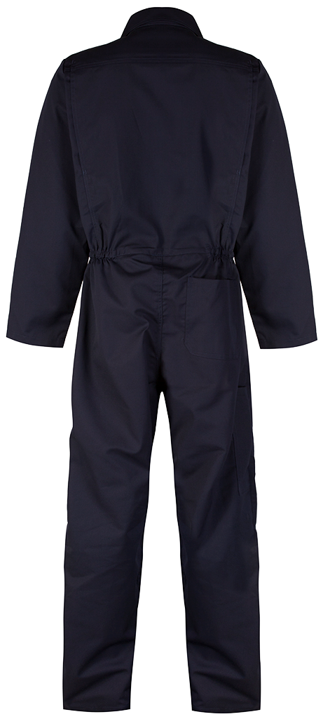 Blue shadow navy back overall