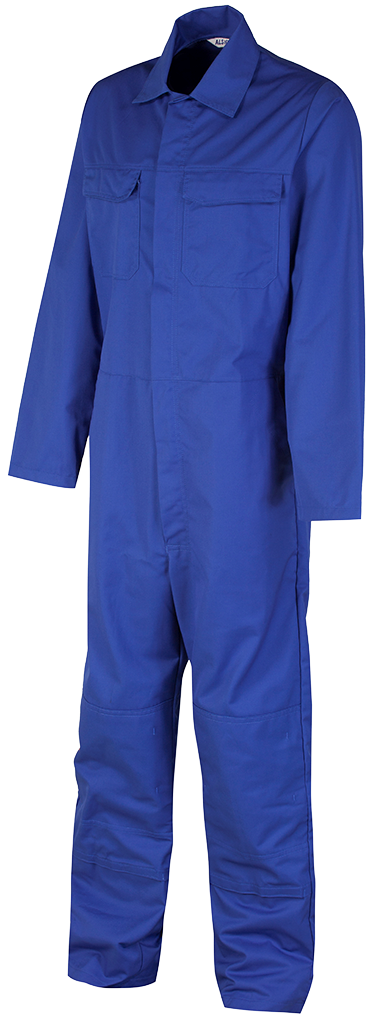 Coverall Side Royal blue