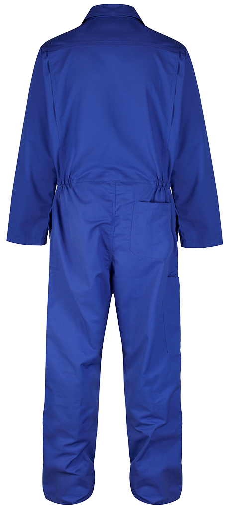 Back Coverall royal Blue
