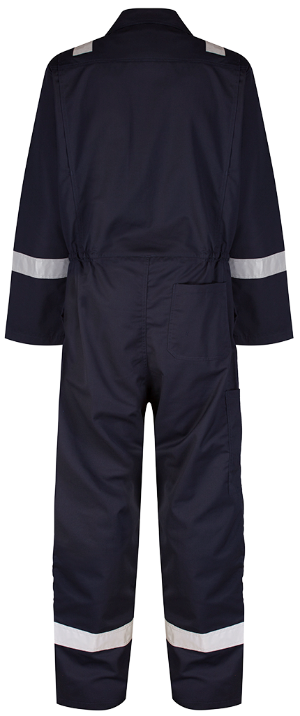 Back Blue shadow coverall