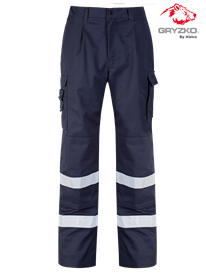 Picture of Gryzko® Cargo Trouser (Reflective Tape & Knee Pocket)