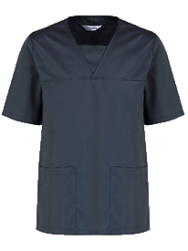 Picture of Unisex Scrub Top - Slate Grey