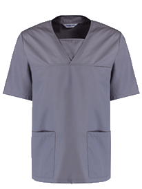 Picture of Unisex Scrub Top - Hospital Grey