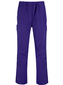 Picture of Unisex Scrub Trouser - Purple Plum (145gsm)