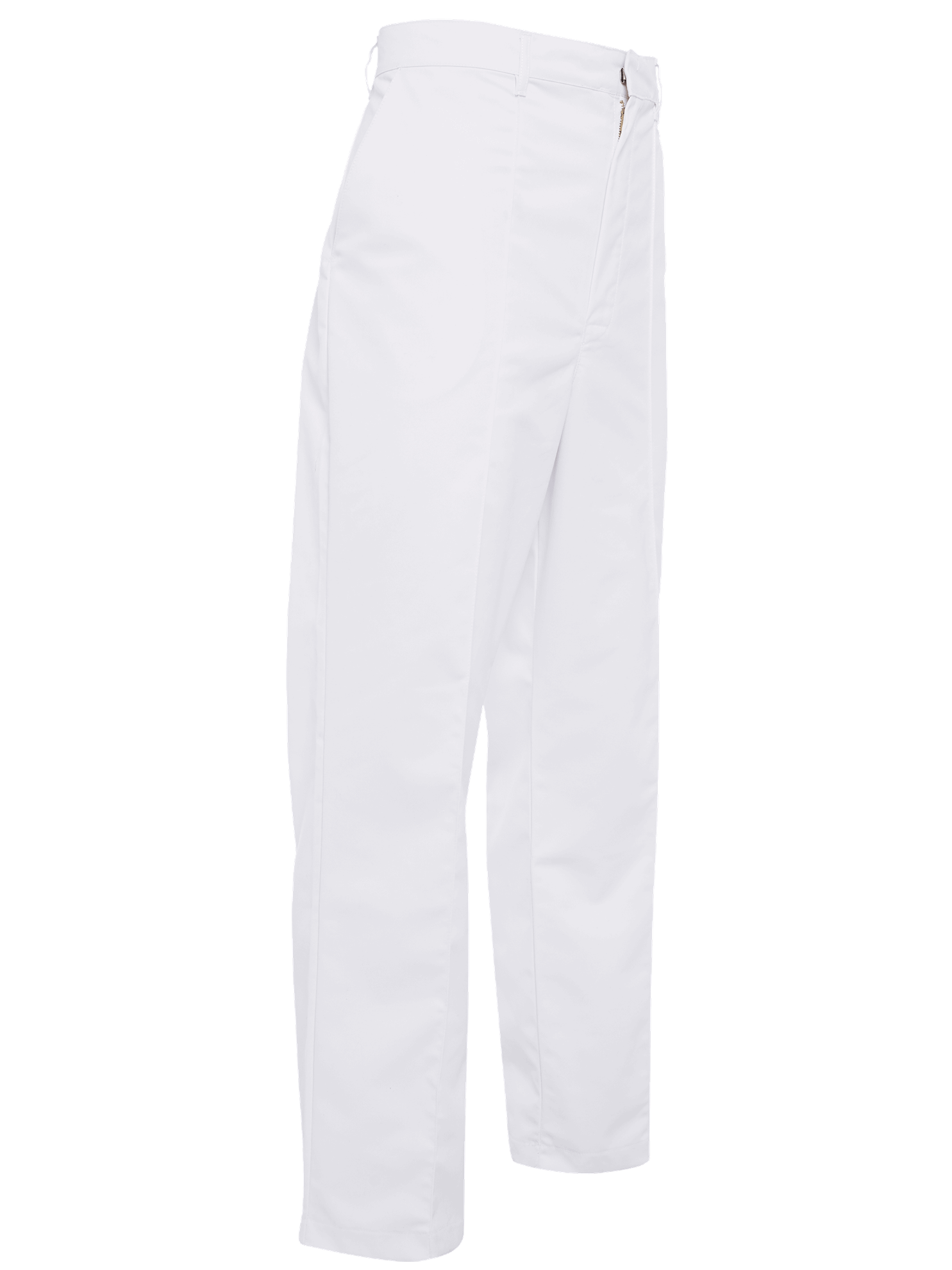 Picture of Trouser with Sewn-In Front Crease (245gsm) (White)