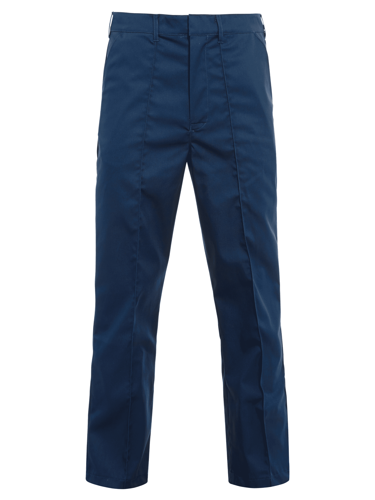 Picture of Trouser with Sewn-In Front Crease (245gsm) (Navy)