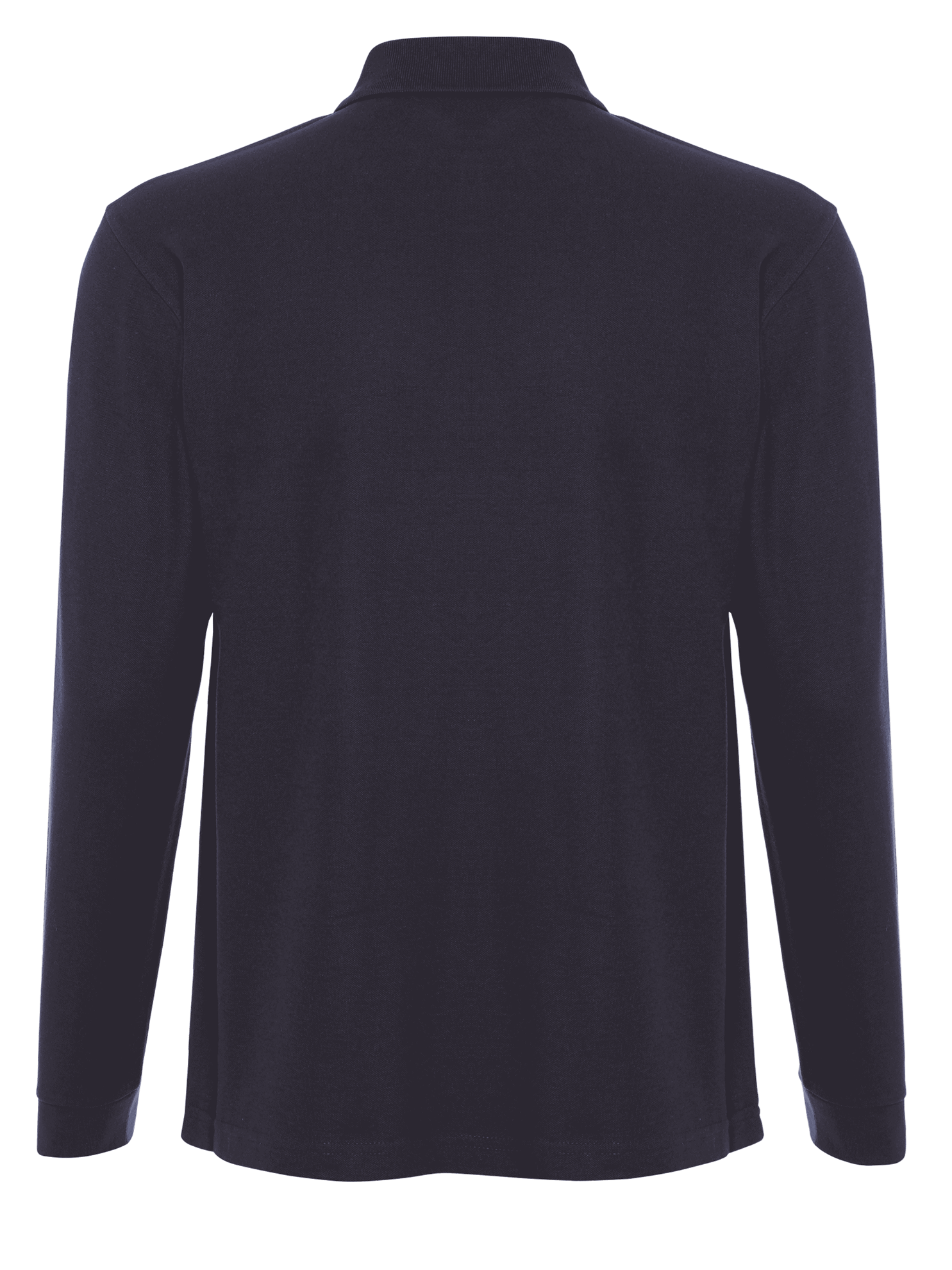Picture of Long Sleeve Polo Shirt Navy