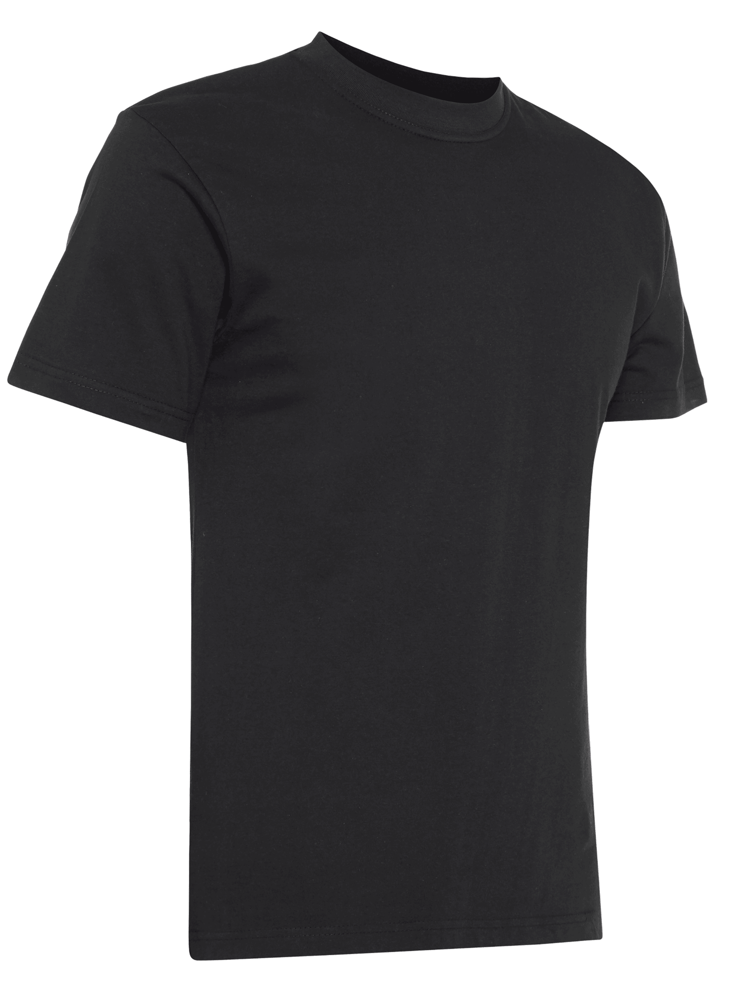 Picture of 100% Cotton T Shirt - Black