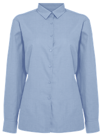 Picture of Ladies Long Sleeve Oxford Shirt