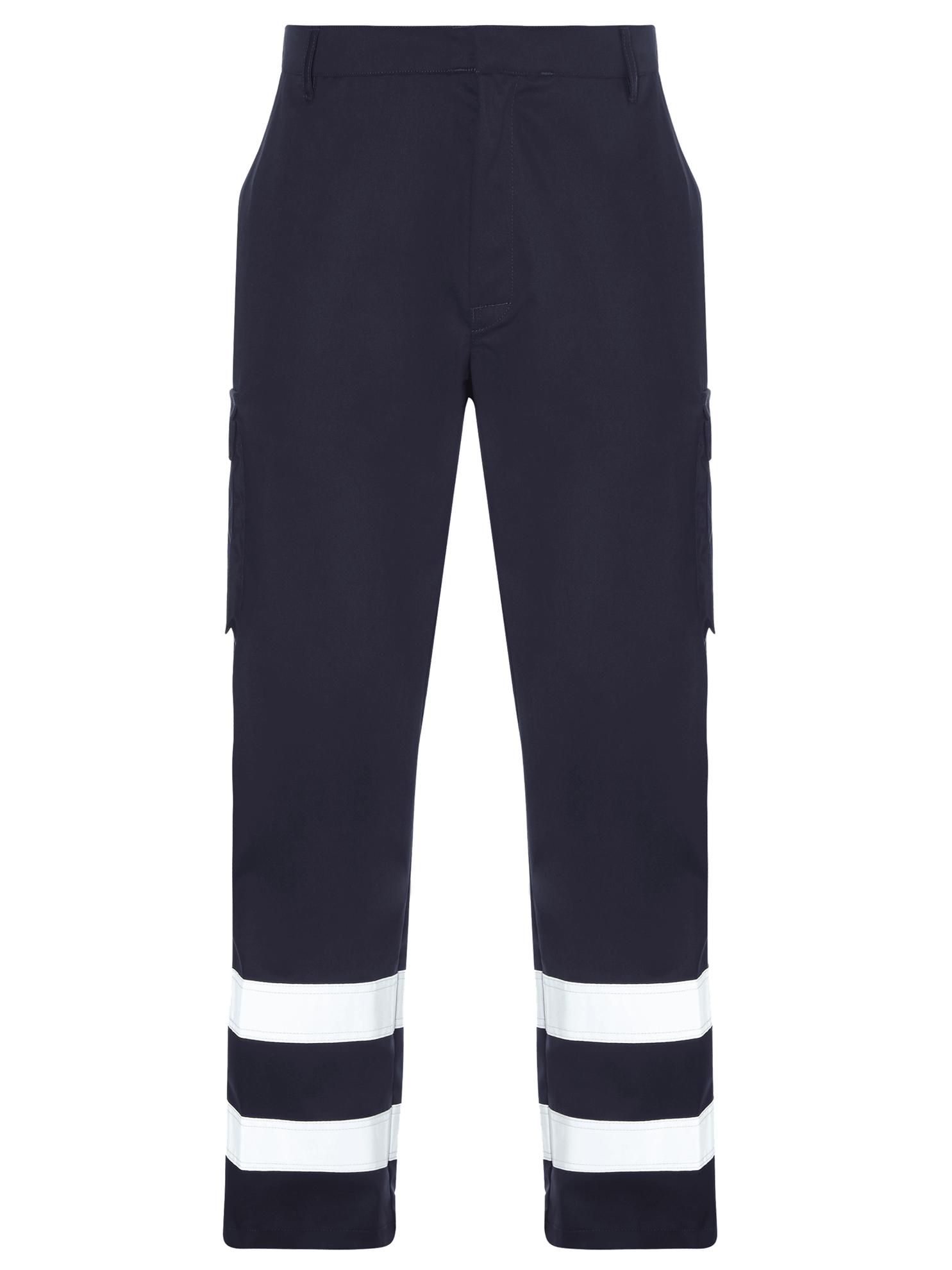 Picture of Cargo Trouser with Reflective Tape - Blue Shadow