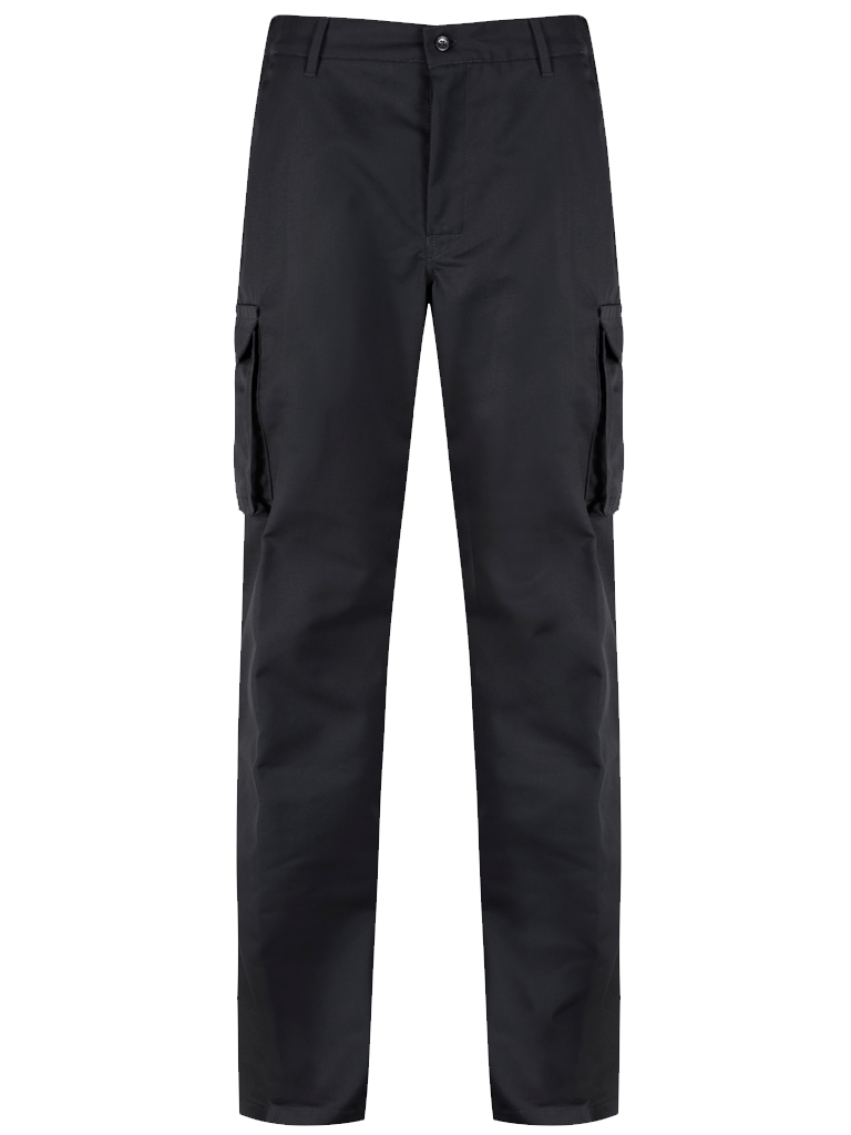Picture of Alsi Cargo Trouser with Knee Pad Pockets - Black