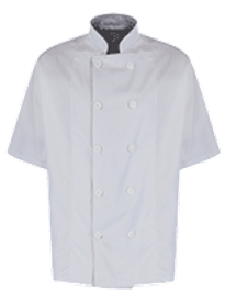 Picture of Unisex Chefs Jacket White Button