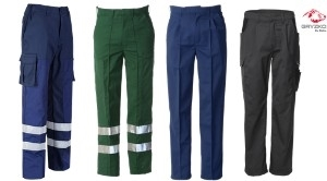 Types of work trousers