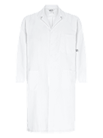 super white chem splash lab coat