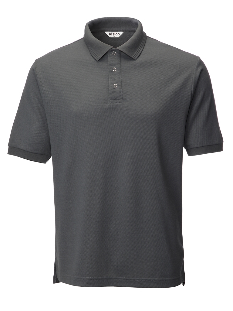 Picture of Industrially Launderable Polo - Grey
