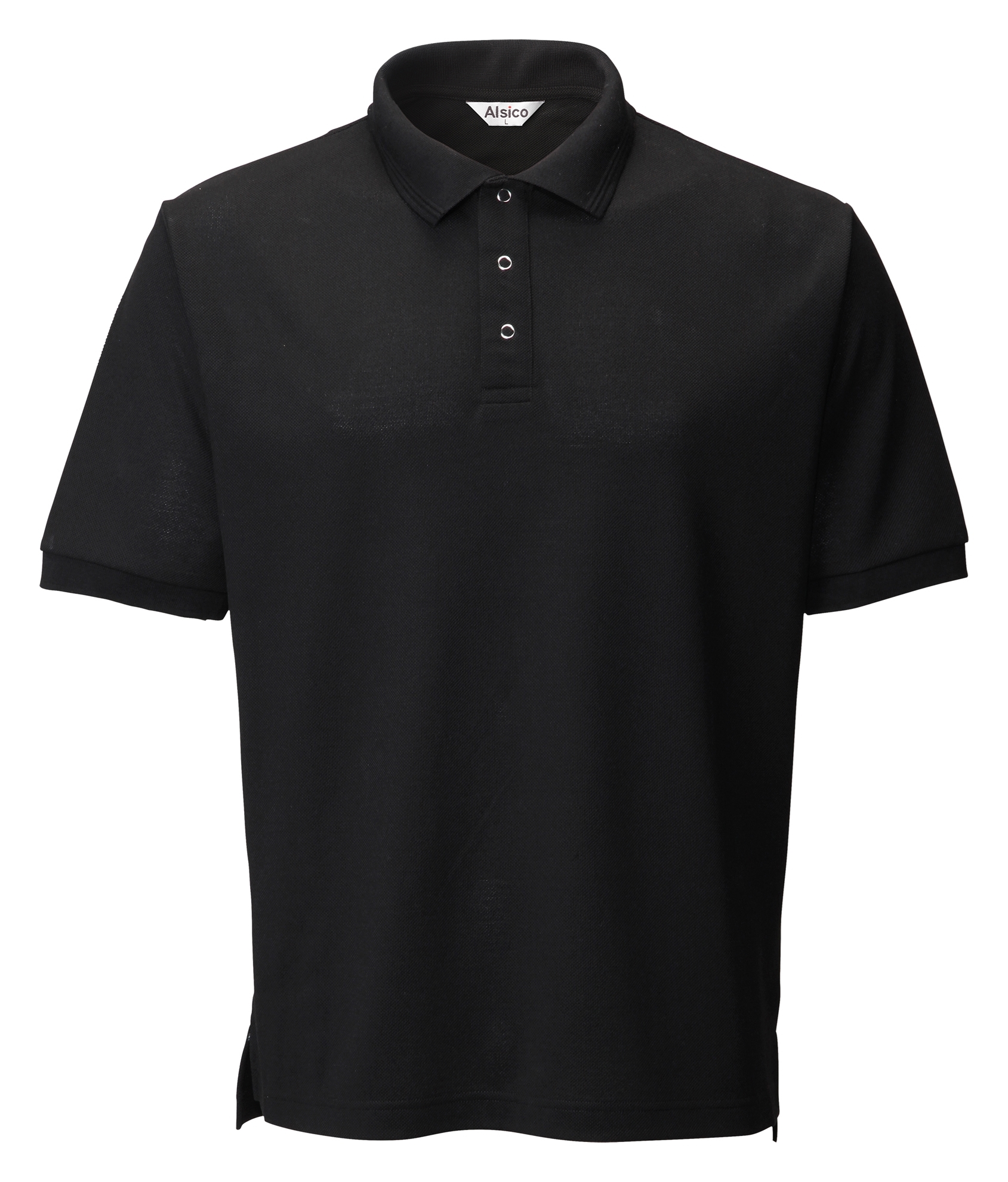 Picture of Industrially Launderable Polo - Black