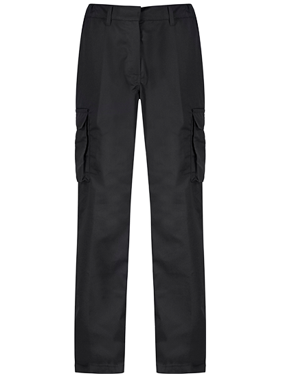 Picture of Alsi Ladies Industrial Cargo Trouser - Black