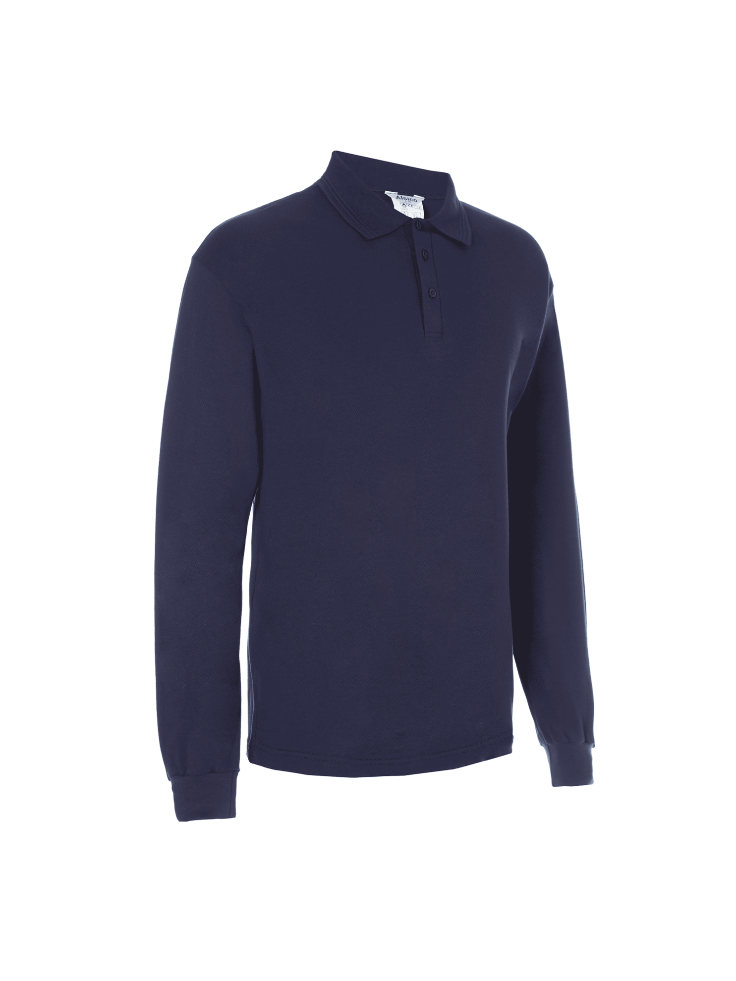 Picture of Protal® Long Sleeve Polo Shirt - Navy
