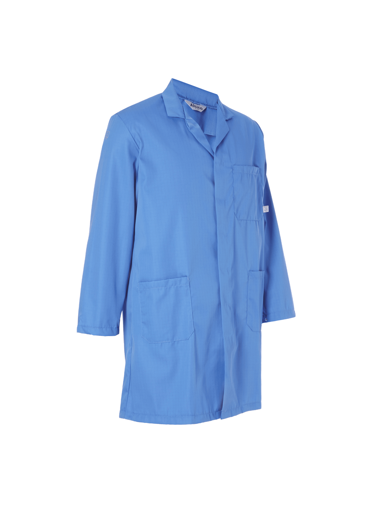 Picture of Anti-Static Coat - Hospital Blue