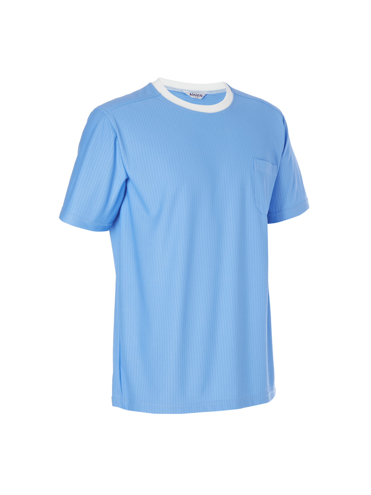 Picture of Anti-Static ESD T-Shirt - Sky Blue