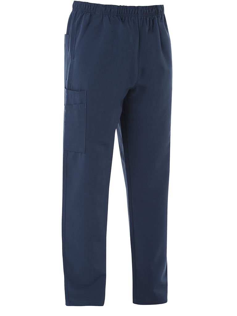 Picture of 4-Way Stretch Male Scrub Trouser - Navy