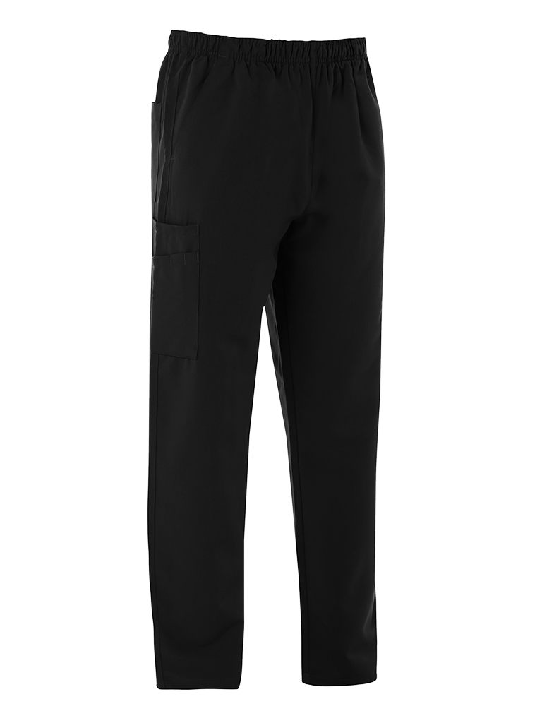 Picture of 4-Way Stretch Male Scrub Trouser - Black