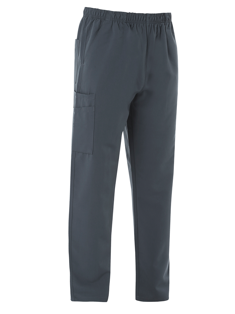 Picture of 4-Way Stretch Male Scrub Trouser - Slate Grey