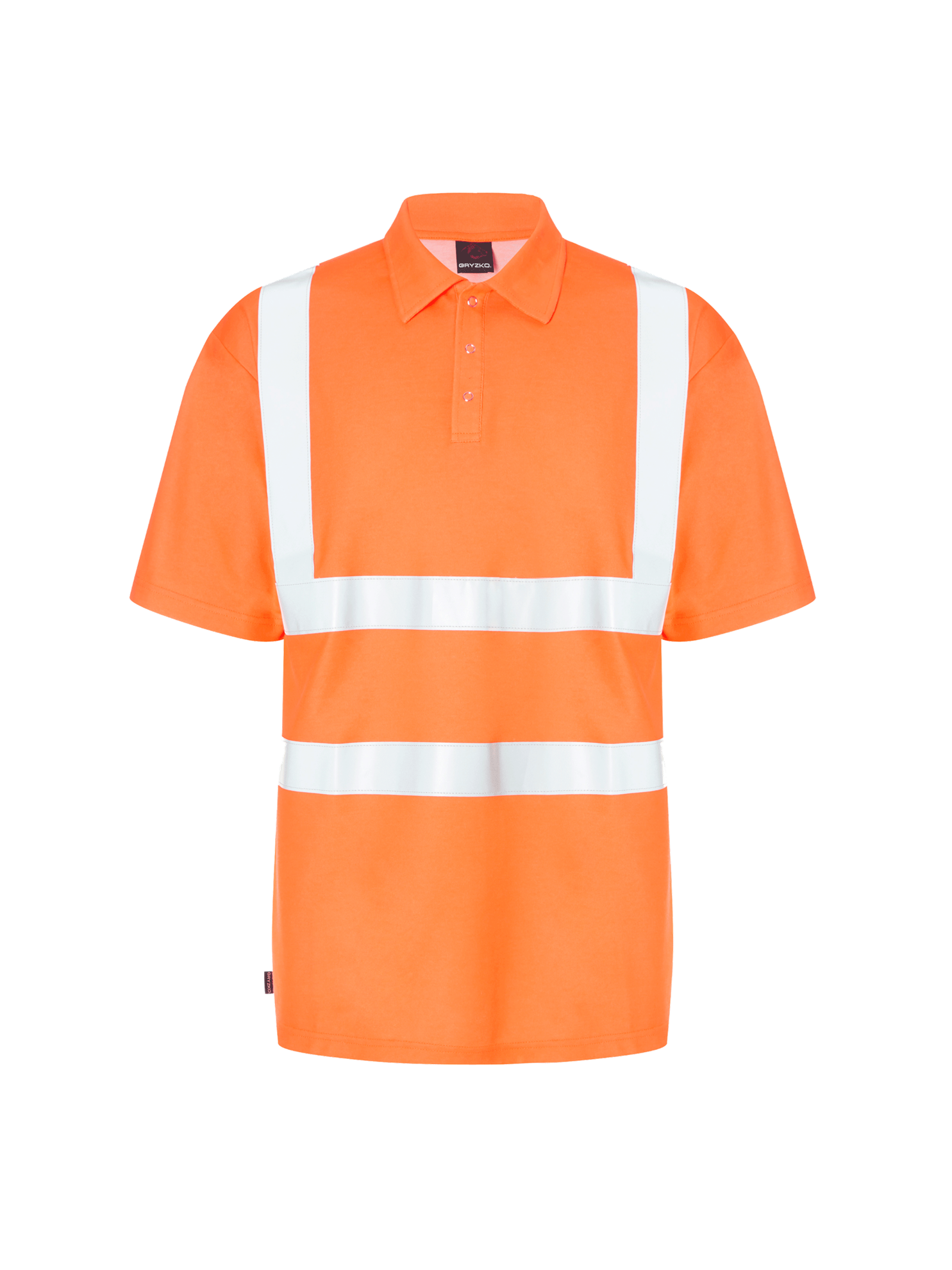 Picture of Hi-Vis Polo Short Sleeve - HV Orange
